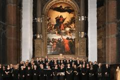 KölnChor steht im Altarraum der Kirche Santa Maria Gloriosa dei Frari in Venedig, Italien