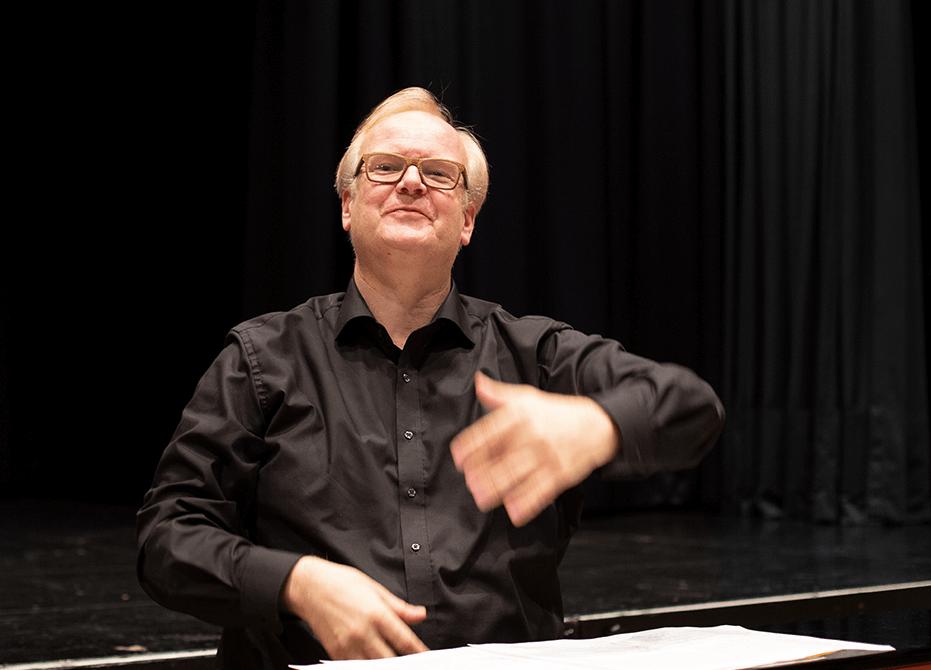 Dirigent Wolfgang Siegenbrink